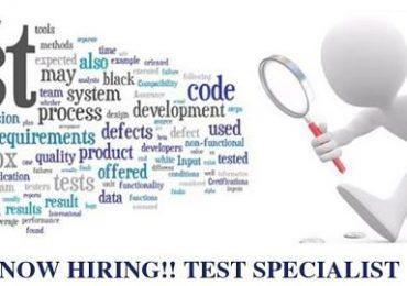 Jawatan Kosong Swasta IT Quality & Test Specialist
