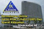 Permohonan Online Geran Khas Prihatin (GKP) Dan Syarat Kelayakan