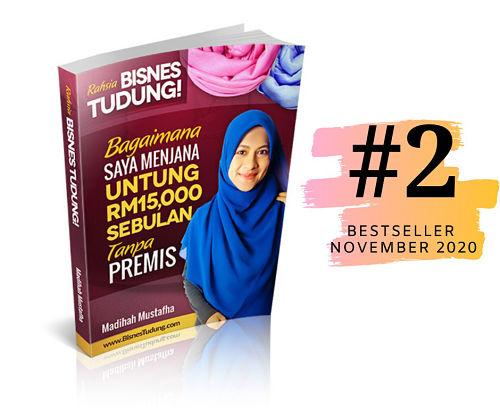 bisnes tudung ebook paling laris