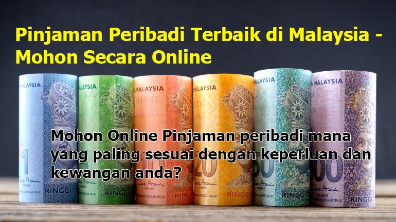 Pinjaman Peribadi Terbaik di Malaysia - Mohon Secara Online